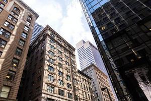 Boston, Massachusetts, edifici del centro foto