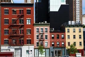 architettura di new york city