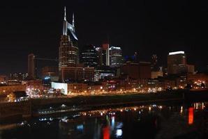 paesaggio urbano di Nashville, Tennessee foto