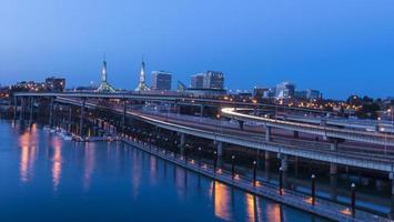 skyline di Portland, o foto