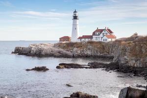 faro di Portland (lato nord), Maine foto