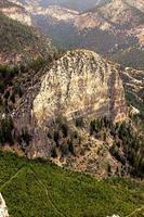 cattedrale rock montagna nevada foto