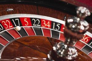 ruota della roulette foto