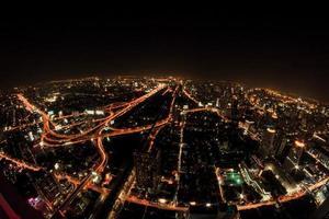 notte di bangkok foto