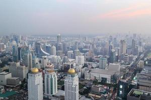 paesaggio urbano di Bangkok, Tailandia foto
