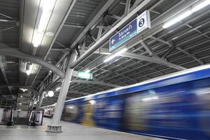 sistema del treno di alianti di Bangkok