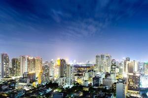 città di Bangkok in Tailandia foto