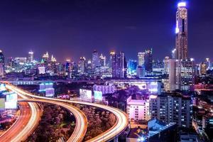 Veduta dall'alto di Bangkok