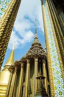 Wat Phra Kaew, Bangkok, Tailandia foto