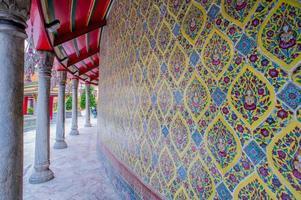 struttura di grande palazzo a Bangkok Tailandia