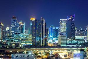 grattacielo di Bangkok foto