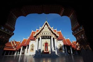 benchamabophit dusitvanaram - bangkok - thailandia foto