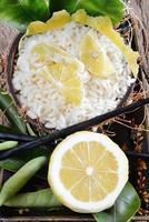 riso al limone foto