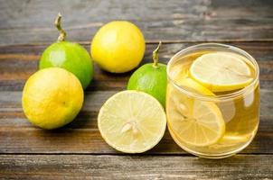 te al limone foto
