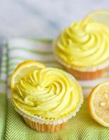 Cupcakes al limone foto