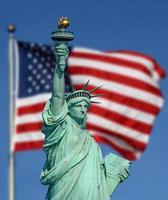 la statua della Libertà foto