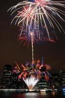 fuochi d'artificio del 4 luglio foto