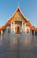 bellissimo tempio di bangkok, thailandia foto