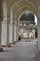 tombe di Qutb Shahi a Hyderabad, in India