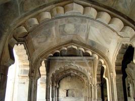 Masjid all'interno del forte di Lahore, in Pakistan foto