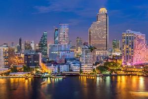 skyline di bangkok