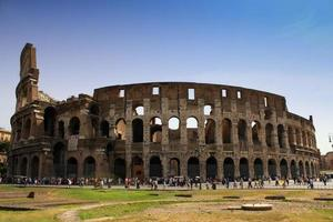 il colosseo di roma, italia.