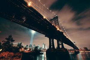notte di New York City foto