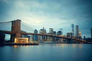 Manhattan in centro foto