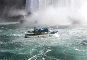si avvicina a Niagara foto