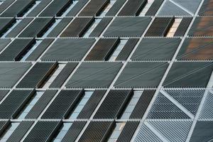 dettaglio della facciata dell'edificio universitario della Colombia. New York foto