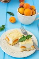 Cheesecake con albicocche, dessert estivo