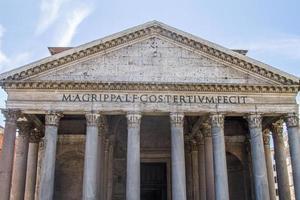 pantheon roma italia foto