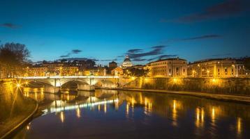 Roma di notte foto