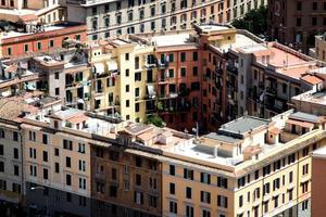 skyline di Roma della città foto