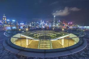 paesaggio urbano di Hong Kong