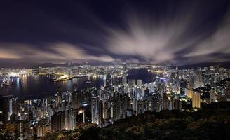 Victoria Harbor, Hong Kong foto