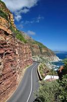 chapman's peak drive - western cape, sudafrica foto