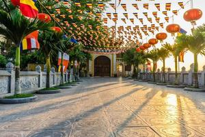 cancello della pagoda di tran quoc foto