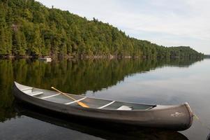 canoa di metallo foto