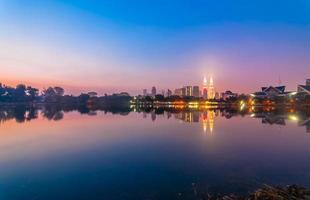 riflessione di Kuala Lumpur foto