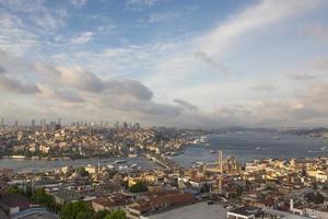 bellissima vista di istanbul foto