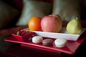 piatto di frutta foto