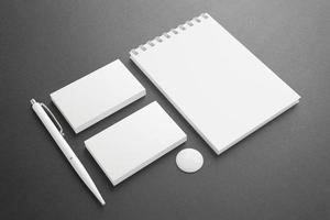 cartoleria vuota / set di identità aziendale