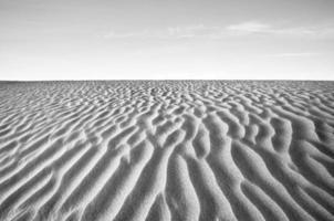duna di sabbia foto