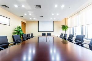 sala riunioni d'affari in ufficio foto
