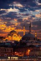 Moschea Suleymaniye Istanbul foto