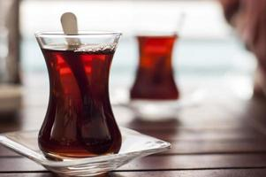 tè turco foto