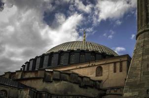 aya (hajia) Sofia in una giornata nuvolosa foto