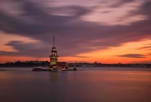 torre della fanciulla lunga esposizione