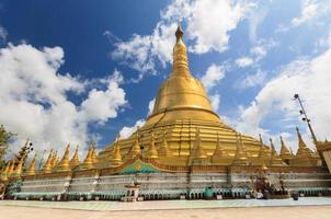 shwemawdaw padoda, myanmar foto